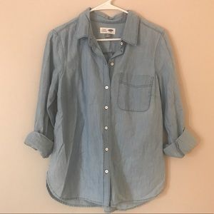Old Navy Tops - Old Navy Classic Chambray Shirt